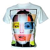 Immortal Men's Angelina Jolie Actress Tomb Raider T-Shirt White Medium
