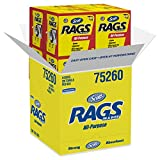 Scott Rags In A Box (75260), White, 200 Shop Towels / Box, 8 Boxes / Case