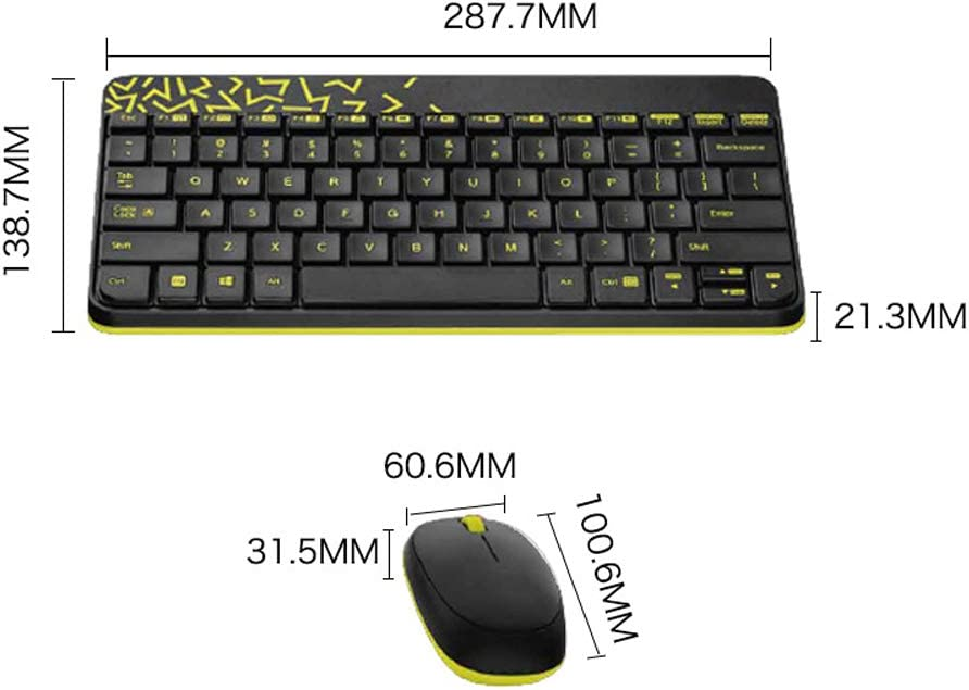SELCNG Wireless Mouse and Keyboard Set