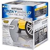 Rust-Oleum 292514 EpoxyShield Premium Floor Coating Kit, Clear