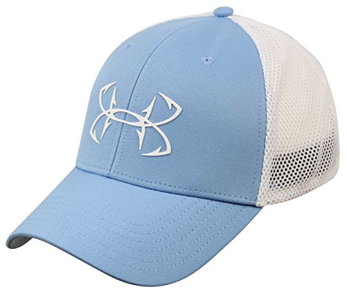 Under Armour Fish Hook 2.0 Hat, Carolina Blue (475)/White, ()