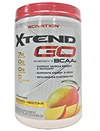 Scivation 438 g Mango Nectar Xtend Go Dietary Supplement by Scivation