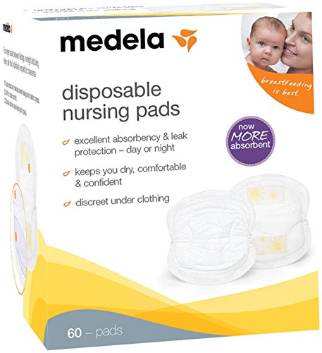 Medela Nursing Bra Pads – Disposable – 60 ct