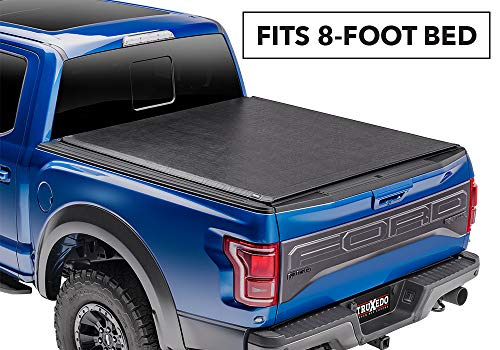 TruXedo Deuce Soft Roll-up Truck Bed Tonneau Cover | 759601 | fits 99-07 Ford F-250/F-350/F-450 Super Duty 8' Bed ()