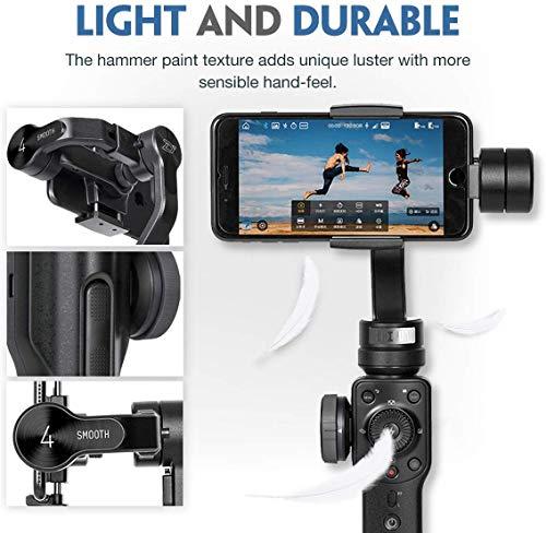 Zhiyun Smooth 4 3-assi stabilizzatore di cardano compatibile, Vertigo Shoot Focus Phonego Mode Focus Pull & Zoom… 4 spesavip