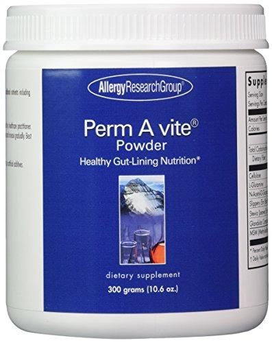 Perm A Vite Powder - Intestinal Permeability Formula - 300 grams Powder - Allergy Research (Intestinal Permeability Support)