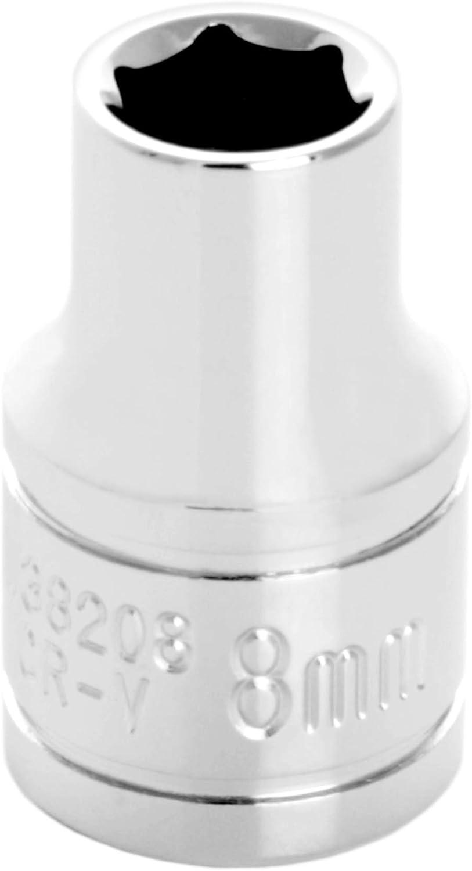 12mm Performance Tool W38212 6-Point Socket 3//8 Drive