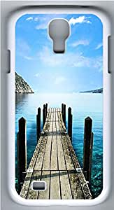 Samsung Galaxy S4 I9500 Cases & Covers - Road To Lake PC Custom Soft Case Cover Protector for Samsung Galaxy S4 I9500 - White