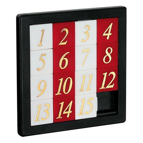 Number Slide Puzzle (Pack of 6) ()