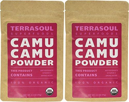 Terrasoul Superfoods Raw Camu Camu Powder (Organic), 7-ounce