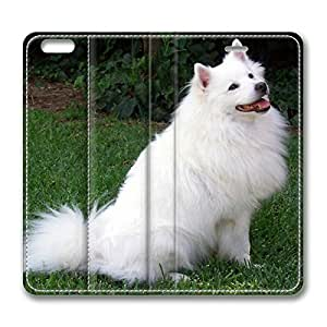 American Eskimo Dog DIY Leather iphone 6 Case Perfect By Custom Service