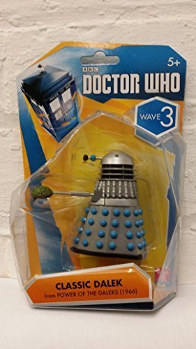 "Doctor Who 3.75"" Action Figure Wave 3 Classic Dalek (Power of the Daleks) by Character Options"