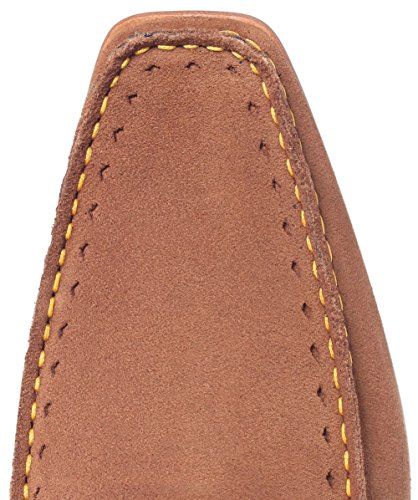 Jeffery West Uomo Mocassini di camoscio Martini Tan marrone