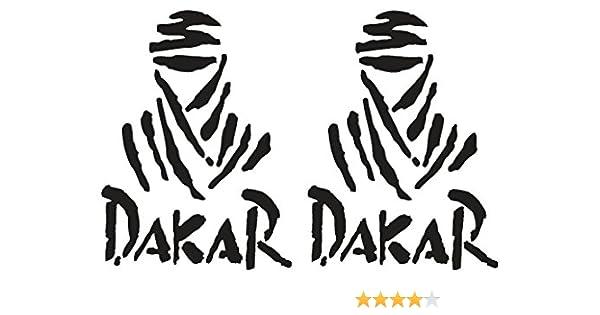 Dakar pegatinas para coche, diseño de Ducati Monster, 25 cm: Amazon.es: Coche y moto