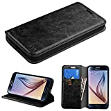 valet tray iphone 6 plus - Asmyna Samsung Galaxy S6 MyJacket Wallet with Tray - Retail Packaging - Black