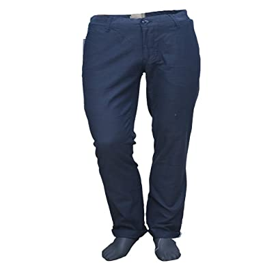 bd128217b26 Oxemberg Men s Cotton Slim FIT Casual Trouser  Amazon.in  Clothing    Accessories