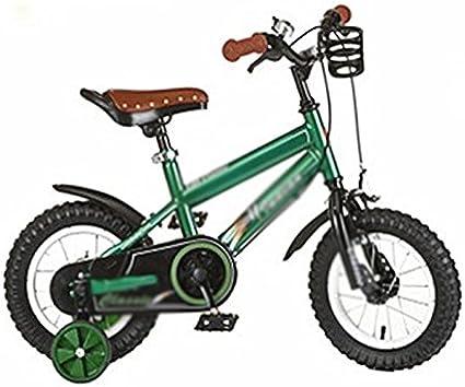 QQB &Carro Plegable Bicicleta para niños 2/3/4/5/6/7 Años de Edad Niños y niñas Bicicleta para niños (Tamaño : A): Amazon.es: Deportes y aire libre