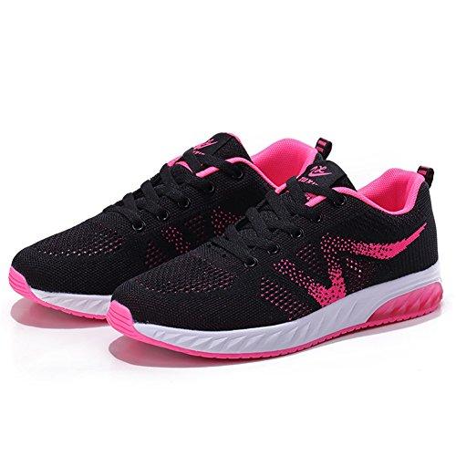 Zapatillas Casuales Deportivos Deporte De Zapatillas Transpirable Ligeras Malla D De Zapatos Zapatos Libre Aire SHINIK Deporte De Al pR1w6HqxnW
