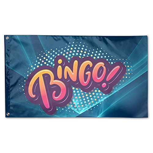 Home Garden Flags Bingo Polyester Flag Indoor/Outdoor Wall Banners Decorative Flag Garden Flag 3