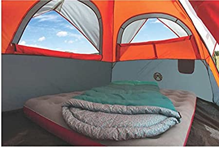 Amazon.com  Coleman Instant Dome 5 Person Tent with Integrated Rainfly  Sports u0026 Outdoors : coleman instant tent 5 - memphite.com