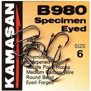 10 Gr/ö/ße Kamasan B980 Haken