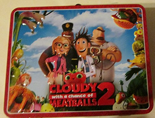 Price comparison product image Cloudy With A Chance of Meatballs 2 Metal Lunchbox (2013)