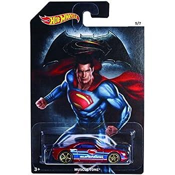 Hot Wheels Batman Superman Covelight Diecast Vehicle Car Toy