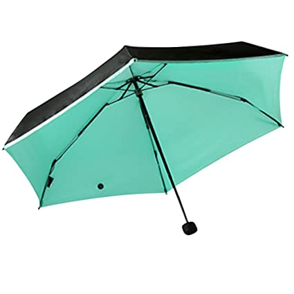Balai - Mini paraguas de bolsillo para mujer, soleado y lluvia, portátil, mini