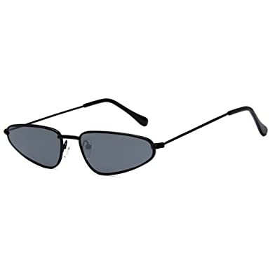 Rétro Cat Eye lunettes de soleil pour les femmes goutte d'eau forme petit Vintage été UV400 protection mzfd5XQBzL