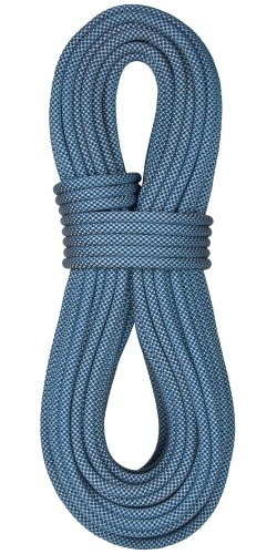 [BlueWater Ropes 10.2mm Eliminator Double Dry Dynamic Single Rope (Blue/Black, 70M)] (70m Dry Rope)