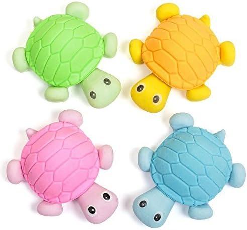 Tobar Turtle Erasers Pack of 4