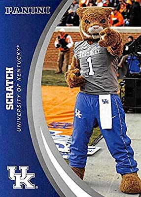 Mascot Scratch football card (Kentucky Wildcats) 2016 Panini Team Collection #1
