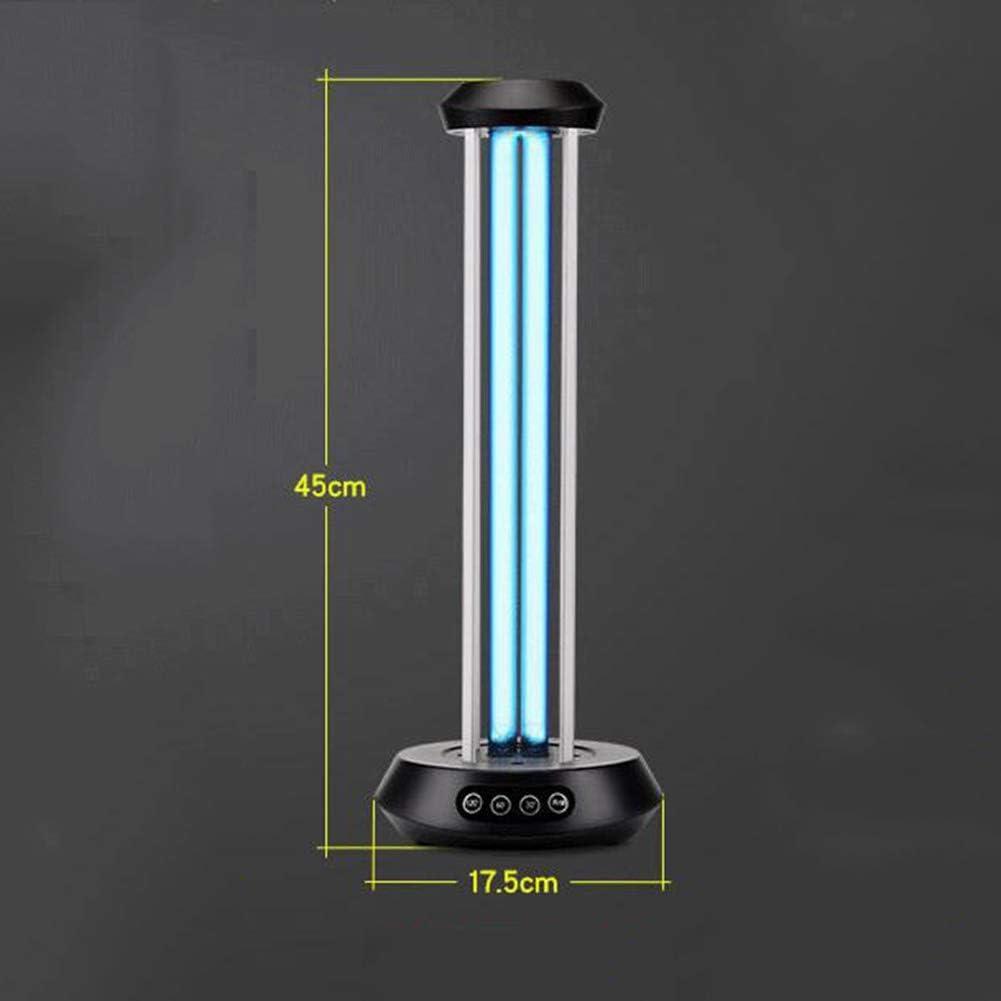 Vicareer UV-Desinfektionslampe Tragbares UV-Licht Keimt/ötende Lampe 36W Haushaltssterilisations-Formaldehyd-Sterilisationslampe,Geeignet F/ür Haustierbereich K/üche Schlafzimmer Schule