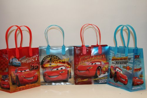 24PC DISNEY CARS GOODIE BAGS PARTY FAVOR BAGS GIFT (Disney Cars Gift Bags)