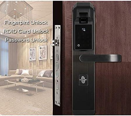 GAOPIN Smart Lock - Cerradura biométrica de Huellas Dactilares ...