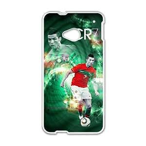 HTC One M7 Phone Case for Cristiano Ronaldo pattern design GQCSRNAD851264