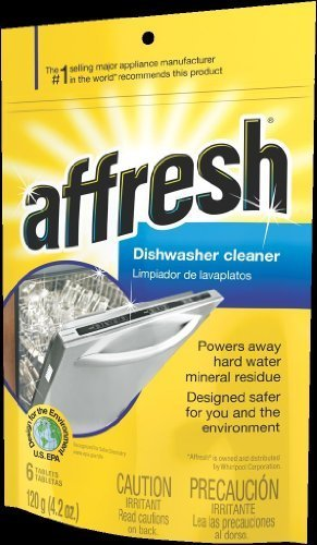 Whirlpool W10282479 Affresh Dishwasher Cleaner-12 Count Jumbo Size Pack