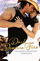 Dark Prairie Fire: Rancher's Pregnant Submissive (Western Cowboy Romance) (English Edition)