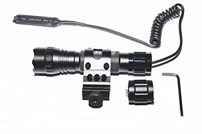 WindFire® Tactical Flashlight Cree Xm-l T6 Led 1000 lm 3.7-18V 1 Mode Light 18650 Battery Tactical Flashlight Torch