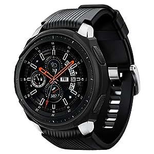 Spigen Samsung Galaxy Watch 46mm Liquid Air cover/case - Black - Compatible with Gear S3 Frontier