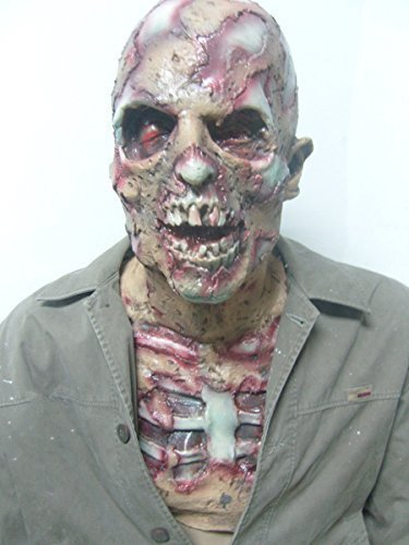 Halloween Masks Cheap (COOBL Halloween Costume Party Mask Horror of the zombie mask)