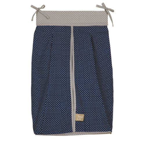 (Trend Lab Diaper Stacker, Perfectly Preppy)