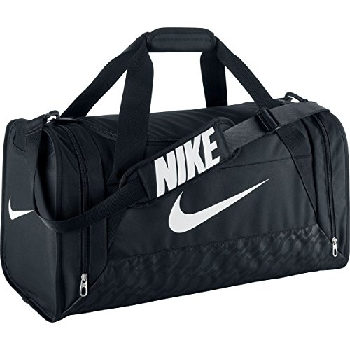 Nike Brasilia Duffle Black Bag - M (Brasilia Nike Bag compare prices)