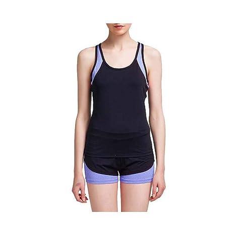 BFBX Chaleco Deportivo para Mujer Chaleco de Yoga Slim Fit ...