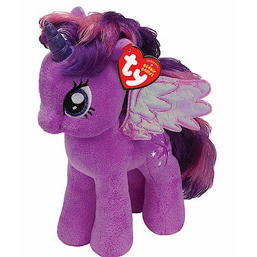 Ty UK My Little Pony Twilight Sparkle Buddy -