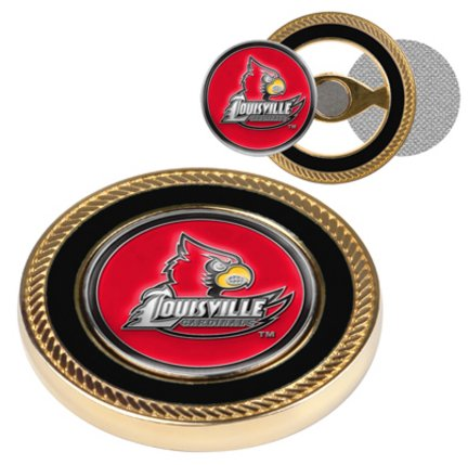 - Louisville Cardinals Challenge Coin with Ball Markers (Set of 2)