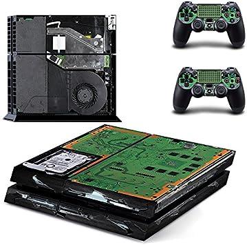 qkonsole PS4 Elektronik Diseño Skin Sticker Playstation 4 vinilo protector de pantalla – mate: Amazon.es: Electrónica