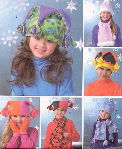 831f6ff54dd Amazon.com  Butterick 4306 Sewing Pattern Boys Girls Fleece Mittens ...