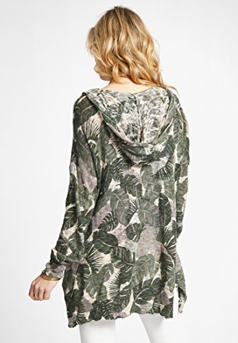 Khujo Manches Shirt Print Femme Sweat Longues 8qaAwv8