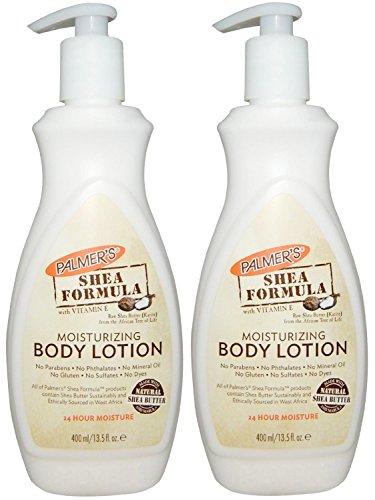 (Palmers Shea Butter Formula Skin Moisturizing Lotion with Vitamin E - 13.5 Oz, Pump (Pack of 2))